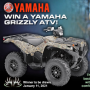 Win a Buckmasters Grizzly ATV Sweepstakes in online sweepstakes