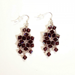 Purple Starlight Earrings Giveaway prize ilustration