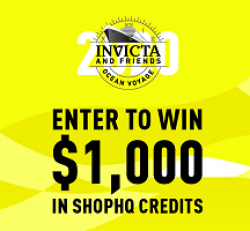Invicta & Friends Ocean Voyage Sweeps prize ilustration
