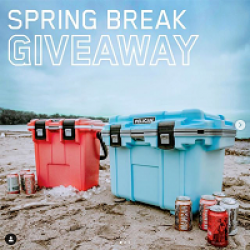 Pelican Coolers Spring Break Sweeps prize ilustration