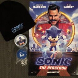 Critical Blast Sonic Headgehog Sweeps prize ilustration