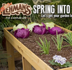 Lehmans Spring Shopping Sweepstakes prize ilustration