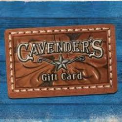 Cavenders Gear Up Giveaway prize ilustration