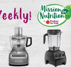 Mission for Nutrition Sweepstakes prize ilustration