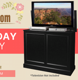 TV Lift Cabinet Mothers Day Giveaway prize ilustration