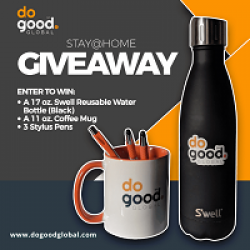DoGood Stay at Home Sweepstakes prize ilustration