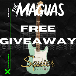 The Maguas Free Guitar Giveaway prize ilustration
