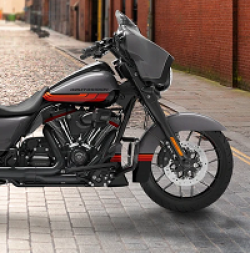 Harley-Davidson CVO Sweepstakes prize ilustration