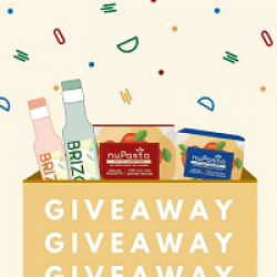 NuPasta Sweepstakes prize ilustration