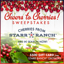 Cheers to Cherries Sweepstakes prize ilustration