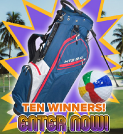 Hot-Z Golf Bag Giveaway prize ilustration