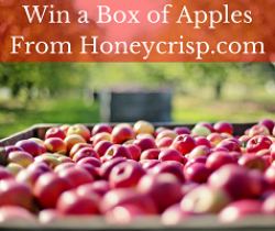 Honeycrisp Apples Sweepstakes prize ilustration