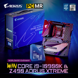 AORUS CPU & Motherboard Sweepstakes prize ilustration