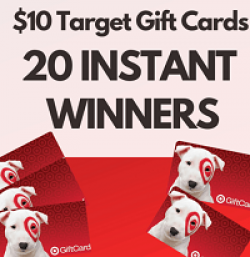 Target Gift Card Instant Win Game prize ilustration