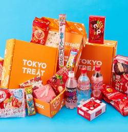 TokyoTreat Sweepstakes prize ilustration