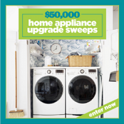 $50,000 Home Appliance Upgrade Sweeps prize ilustration