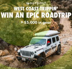 West Coast Road Trippin Summer Sweeps prize ilustration