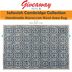 Moroccan Wool Rug Giveaway prize ilustration