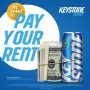 Win a Keystone Light Free Rent Sweepstakes in online sweepstakes