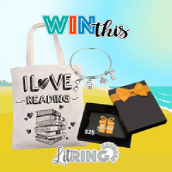 Romancing the Book Sweepstakes prize ilustration