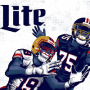 Win a Miller Lite National Football IWG in online sweepstakes