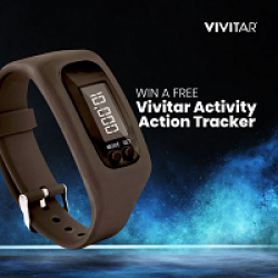 Vivitar Activity Watch Sweepstakes prize ilustration