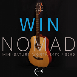 Mini-Saturn Guitar Sweepstakes prize ilustration