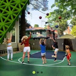FlexCourt Outdoor Court Giveaway prize ilustration