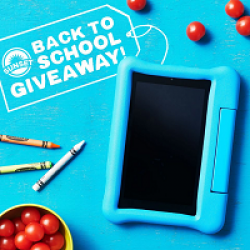 Sunset Produce Back to School Sweeps prize ilustration
