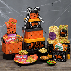 Reeses Haunted Halloween Sweepstakes prize ilustration