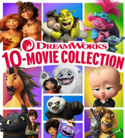 Dreamworks Movie Collection Giveaway prize ilustration