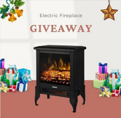 Electric Fireplace Giveaway prize ilustration