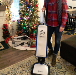 Hoover Upright Vacuum Sweepstakes prize ilustration