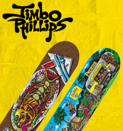 Pacifico Skateboard Sweepstakes prize ilustration