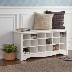 Shoe Storage Cubby Bench Giveaway prize ilustration