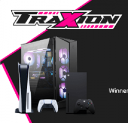 Traxion Gaming Giveaway prize ilustration