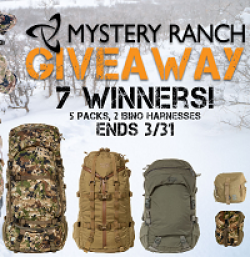 Mystery Ranch Giveaway prize ilustration