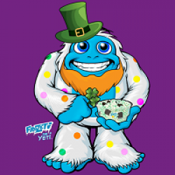 Dippin Dots You shamROCK Sweepstakes prize ilustration