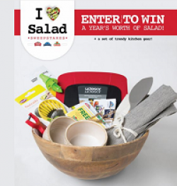 Litehouse I Heart Salad Sweepstakes prize ilustration