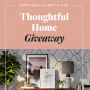 Win a Apt2B Thoughtful Home Giveaway in online sweepstakes