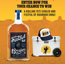 Fistful of Bourbon Sweepstakes prize ilustration