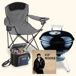 Kip Moore Tailgate Package Sweepstakes